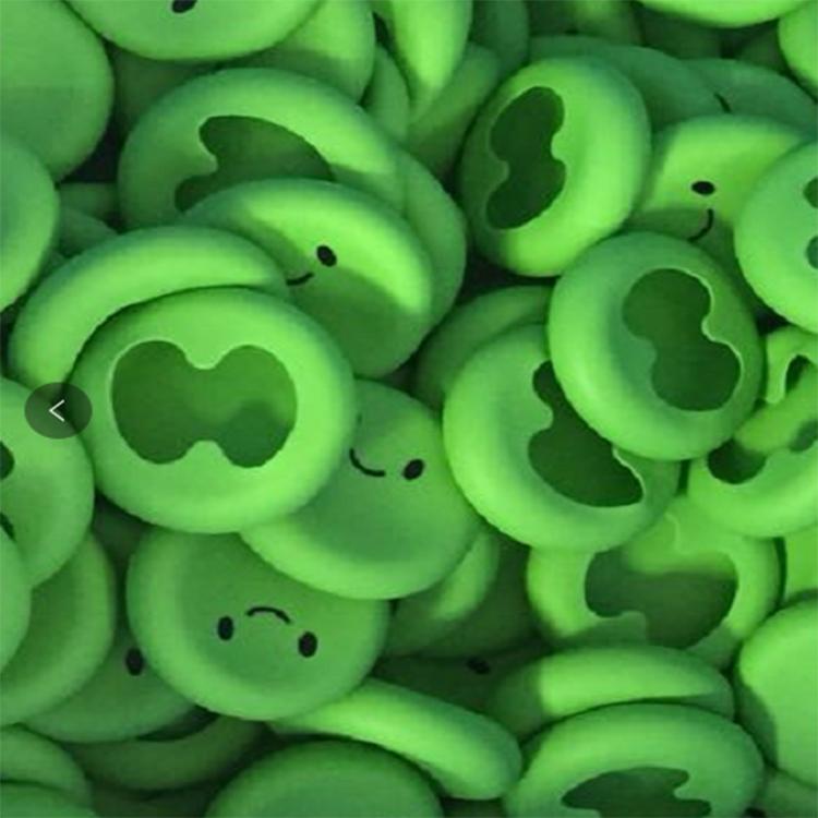 保鲜盖硅胶绿色