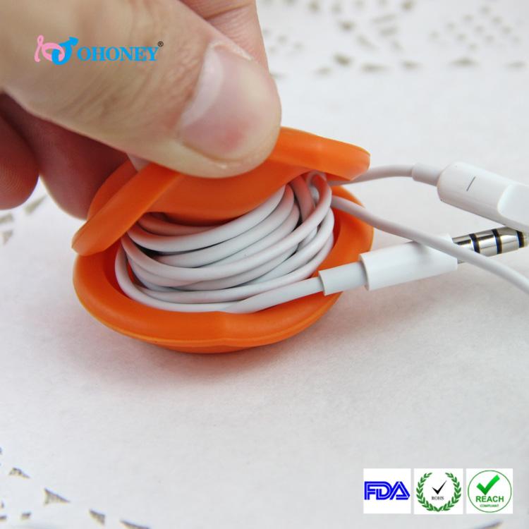 硅胶耳机绕线器