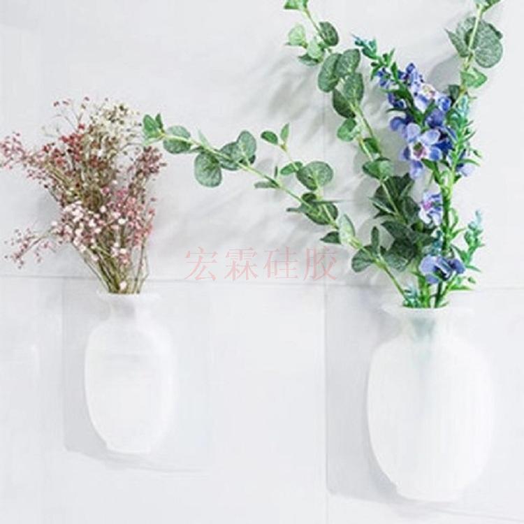 硅胶花瓶贴