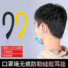 口罩防勒耳挂 现货矽膠口罩繩 硅胶防勒耳挂厂家