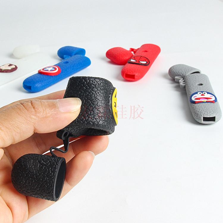 皮卡丘悦刻通用矽膠套 YOOZ公仔矽膠保護套 防丢悦刻矽膠套定制