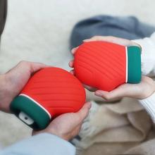 定制硅膠暖水袋,圣誕禮品暖水袋