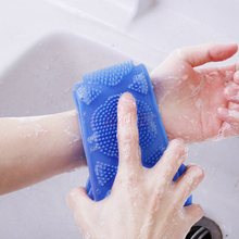 矽膠搓澡巾 硅胶洗澡巾厂家 定制硅胶洗澡神器