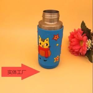 新款创意水杯矽膠套定制户外便携带矽膠杯套