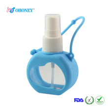 硅膠制品廠家定制硅膠便攜免洗手消毒洗手液瓶套